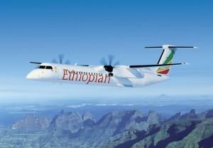 BA-Q400NG Ethiopian Airlines