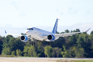 Bombardier CSeries first flight September 16, 2013