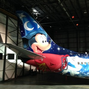 WESTJET - WestJet soars to new heights with Magic Plane