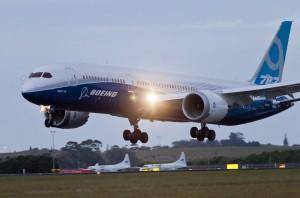 Boeing 787-9 Dreamliner International Debut, Auckland New Zealand