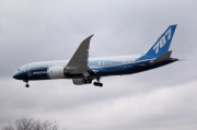 The Boeing 787 Dreamliner's first arrival at Toronto Pearson CYYZ