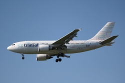 Air Transat Airbus A310-308 C-GLAT in Welcome livery